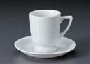 白高台コーヒーC/S(碗と受け皿セット)