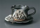 天目コーヒーC/S(碗と受け皿セット)