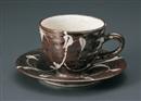 錆ツタ絵抜きコーヒーC/S(碗と受け皿セット)