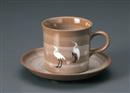 さぎコーヒーC/S(碗と受け皿セット)