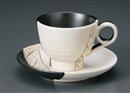 古式祥瑞コーヒ碗皿(碗と受け皿セット)