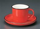 レッドコーヒーC/S(碗と受け皿セット)