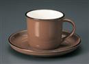 ブラウンコーヒーC/S(碗と受け皿セット)