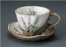 ラベンダーロックコーヒー碗皿(碗と受け皿セット)