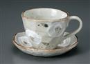椿ロックコーヒー碗皿(碗と受け皿セット)