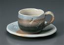 夏トンボ丸コーヒー碗皿(碗と受け皿セット)