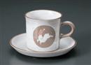兎コーヒーC/S(碗と受け皿セット)