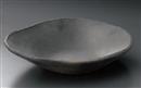 炭化変型盛鉢