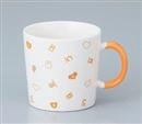 アニマルランダムマグカップ オレンジ