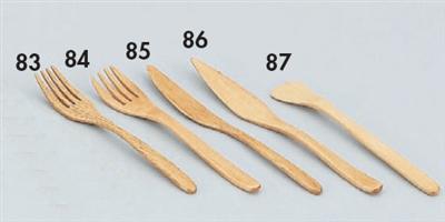 木製カトラリー栗木ケーキフォーク