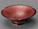 紅柚子4.3高台鉢
