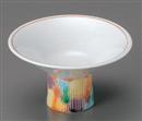 赤彩交跣4.4高台小鉢