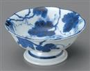 藍染ぶどう高台小鉢