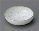 鉄粉引4.5鉢