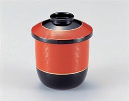 [TM]朱帯金ライン2.6糸巻小吸椀