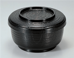 [TA]黒(小)割子飯器