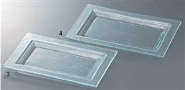 Glassware アラカルトCY32.5cmリム角プラター