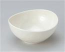 アイボリーマット楕円5.0鉢