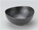 黒マット楕円5.0鉢
