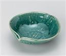 銅織部11㎝がんどち鉢