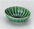 かすみ緑11.5㎝楕円小鉢