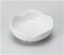粉引梅珍味平鉢