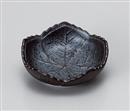 天目木の葉珍味平鉢