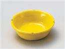 黄釉二彩3.6丸鉢