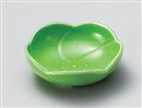 グリーン梅型浅鉢