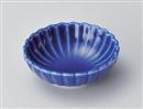 ルリ菊型鉢