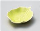 木の葉黄緑小皿
