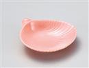 ピンク貝がら鉢