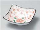 牡丹唐草尺角鉢