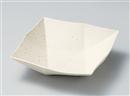 粉引オリメ角鉢(大)