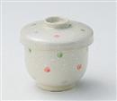 白吹水玉並型むし碗(中)