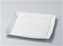 青白彫刻正角盛皿