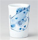 手描きフグフリーカップ