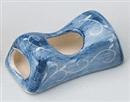 藍唐草旅枕箸置き