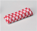 矢絣台形箸置き赤