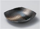 雲海角櫛目型5.5平鉢