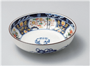 染錦紋様7号鉢