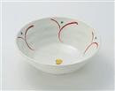 粉引釉花だより6.8麺鉢