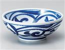藍草紋麺鉢