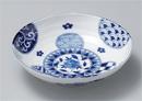 藍丸紋六兵5.5浅鉢