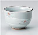粉引彫小花散し仙茶