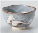 鼠志野井戸抹茶碗