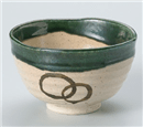 織部井戸抹茶碗