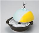 山海ドーム型鍋・蒸し器(目皿付)
