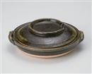 緑灰釉柳川鍋