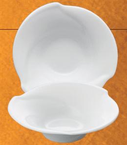 白磁風趣15cmフルーツ